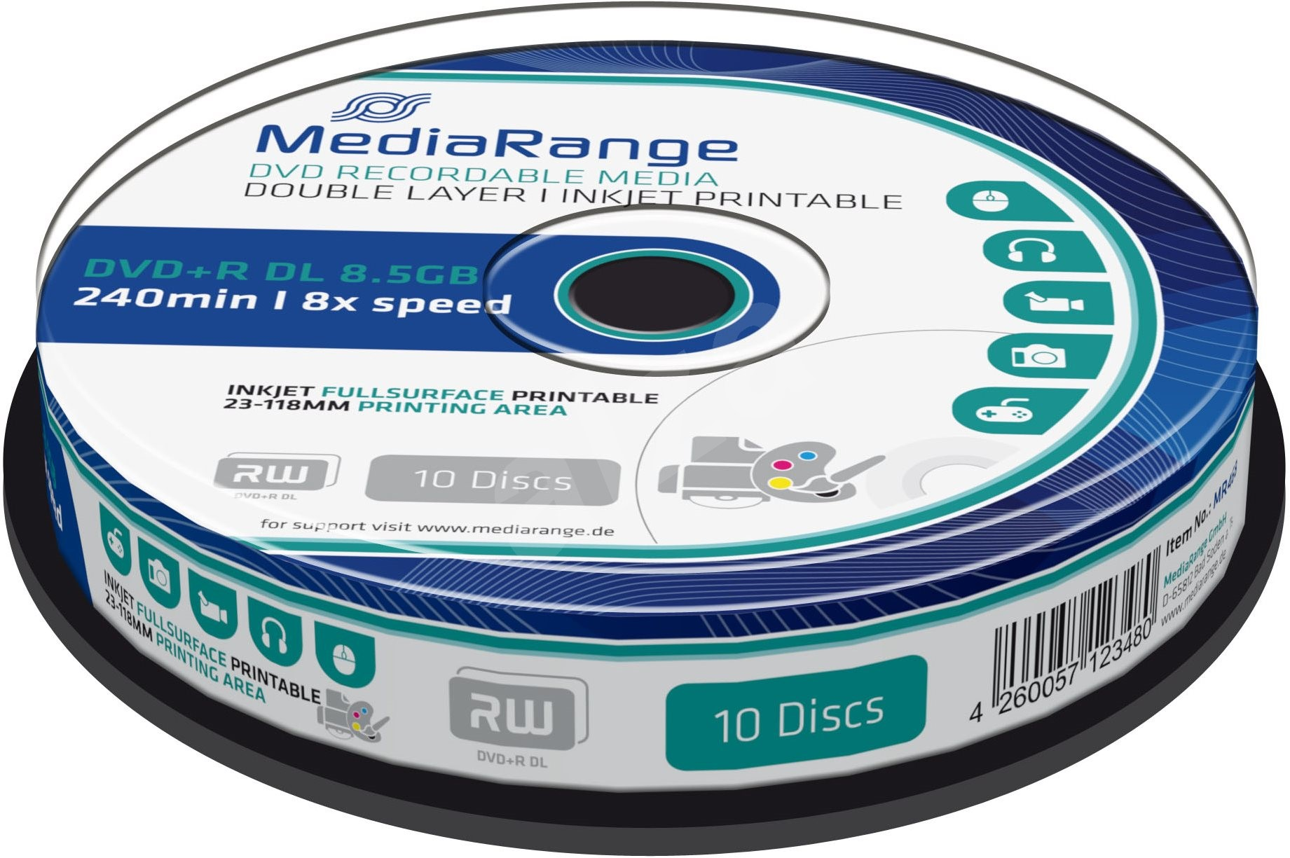 DVD-R Media Range printable 1/1