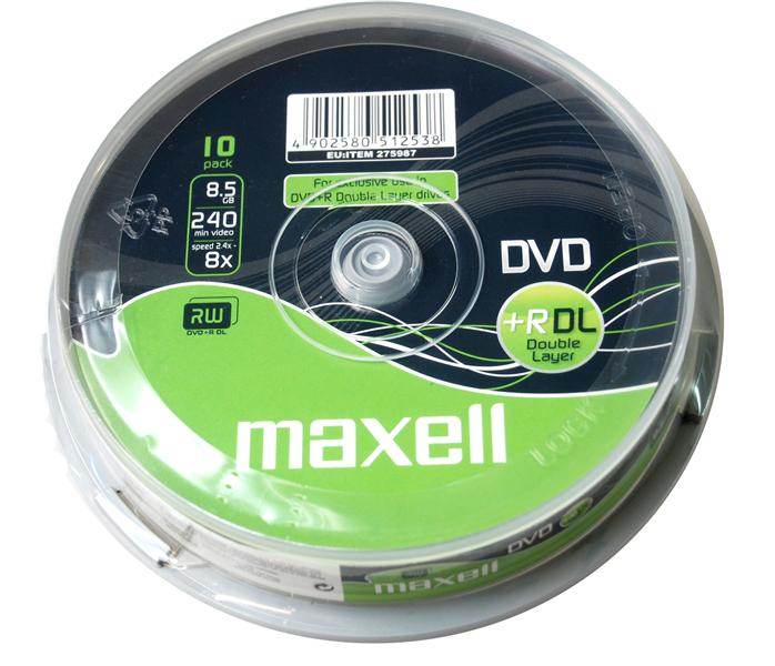 DVD+R Maxell 8.5 Gb Double Layer 1/1